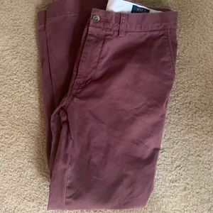 Polo Ralph Lauren Classic Fit Pants Red Size:34/32
